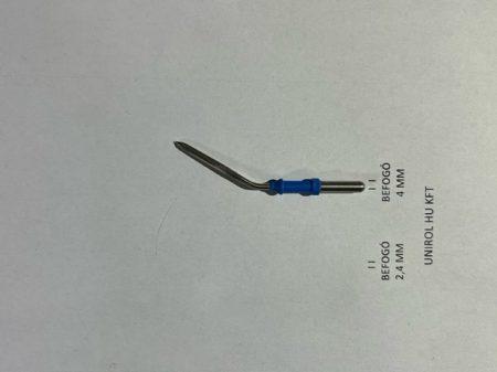 Gömbelektróda 6mm, Monopoláris elektróda, hosszított-egyenes, 4mm befogóval