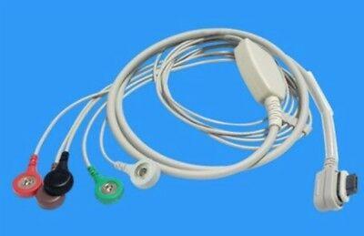 GE Seer Light EKG hOlter kábel, 5 elvezetéses