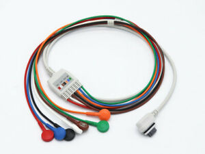 GE Seer Light Holter Kábel 7 elvezetéses