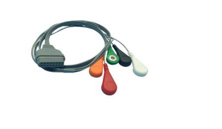 Edan SE-2003 Holter kábel, 5 elvezetéses
