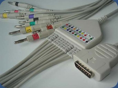 Hewlett Packard EKG kábel, pacienskábel, javítható